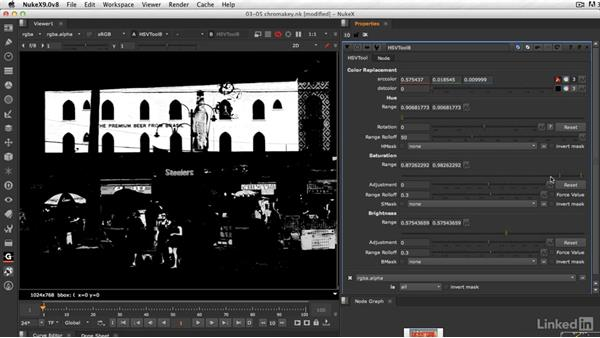 Discovering NUKE's hidden chroma keyer: VFX Keying: Master Course