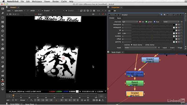 How to create a color difference key: VFX Keying: Master Course
