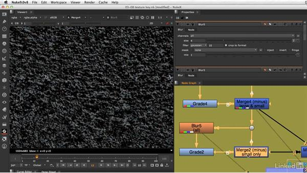 How to create a texture key: VFX Keying: Master Course