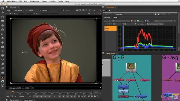 How spill suppression works: VFX Keying: Master Course