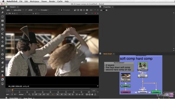 Compositing keyer outputs: VFX Keying: Master Course