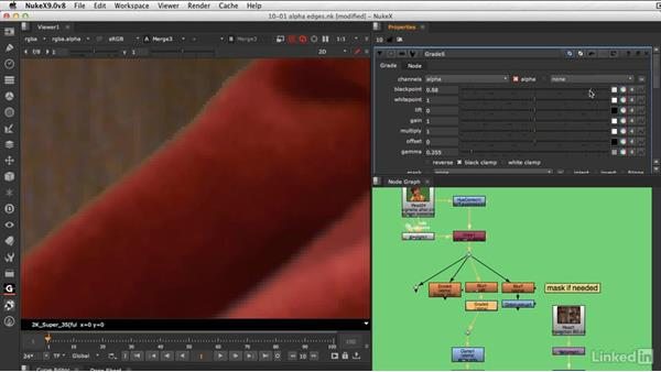 Sculpting your key edges: VFX Keying: Master Course