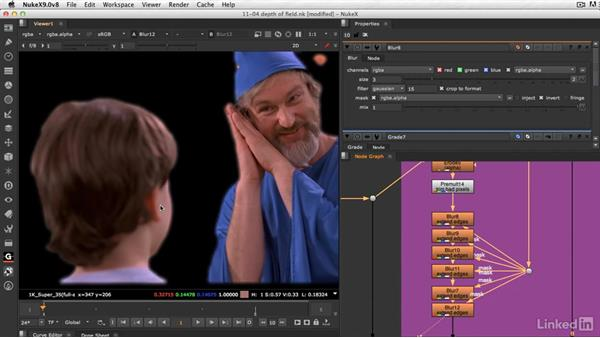 How to retain all of the depth of field: VFX Keying: Master Course