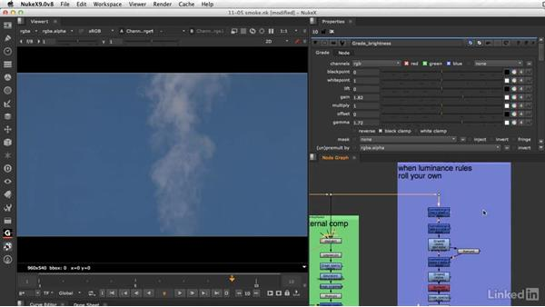 Special keying techniques for smoke: VFX Keying: Master Course