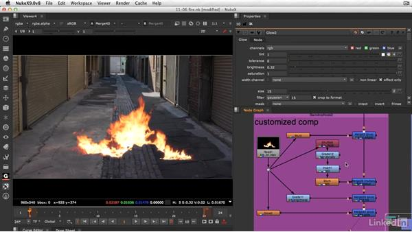 Extra special keying techniques for fire: VFX Keying: Master Course