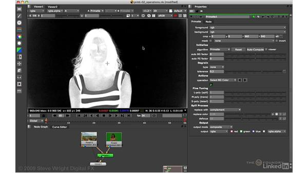Primatte: Basic keying and spill suppression: VFX Keying: Master Course