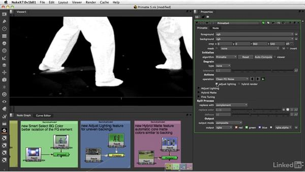 Primatte: New features in Primatte V: VFX Keying: Master Course