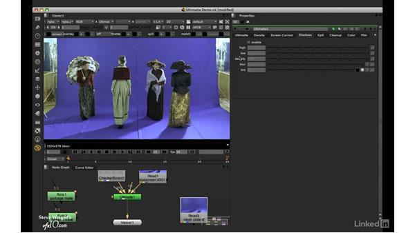 Ultimatte: Basic setup: VFX Keying: Master Course