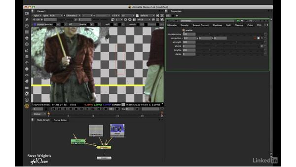 Ultimatte: Overall workflow: VFX Keying: Master Course
