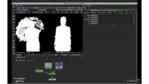 Ultimatte: Matte tools and shadows: VFX Keying: Master Course