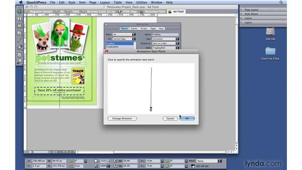 Building Flash projects: QuarkXPress 8 Essential Training