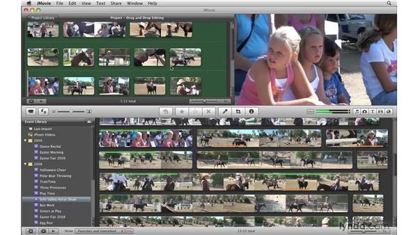 : iMovie '09 Essential Training