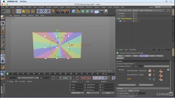 Voronoi Fracture: CINEMA 4D R18: New Features