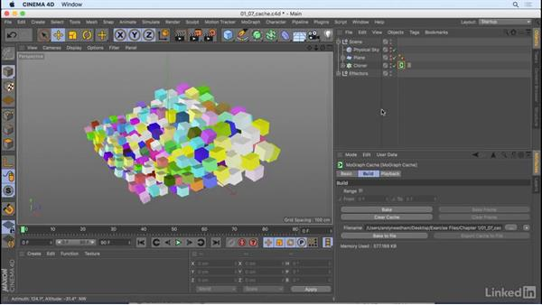 Caching and the Cache tag: CINEMA 4D R18: New Features
