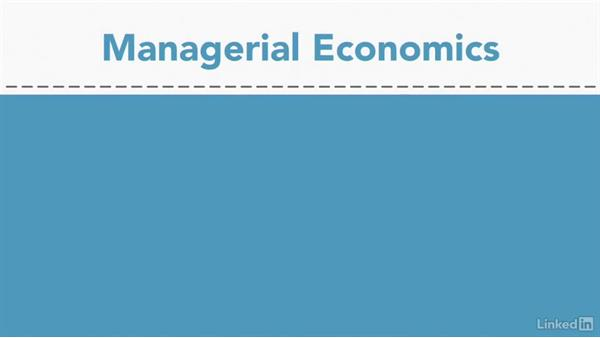 What is managerial economics?: Managerial Economics