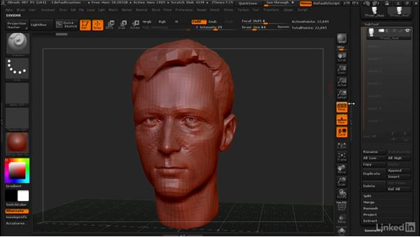 Scaling models without ruining details: ZBrush: Tips & Tricks
