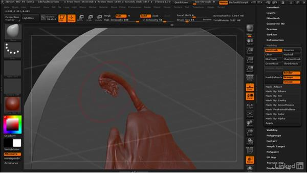 Turning a model into a bas-relief sculpture: ZBrush: Tips & Tricks