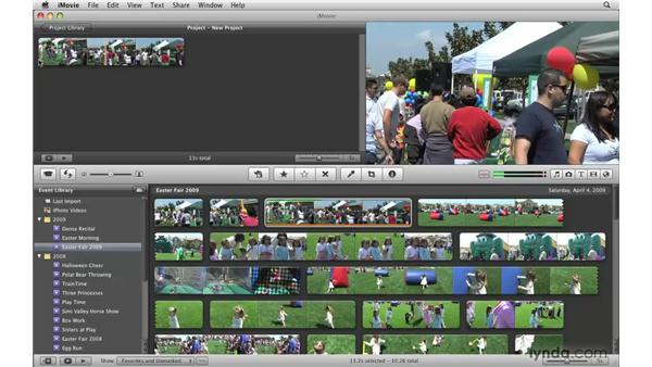 Stabilizing your video: iMovie '09 Essential Training