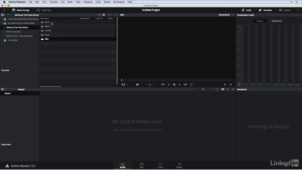 Analyzing camera originals: DaVinci Resolve Guru: Moving Timelines Between Editing Apps