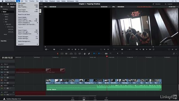 Editor task: Exporting an XML/AAF from Premiere Pro, FCPX and Avid: DaVinci Resolve Guru: Moving Timelines Between Editing Apps