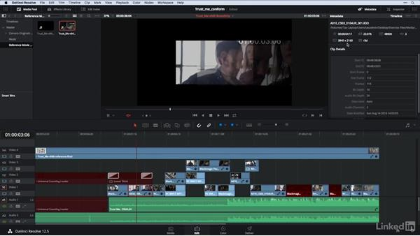 Conforming 101: Fixing initial problems: DaVinci Resolve Guru: Moving Timelines Between Editing Apps