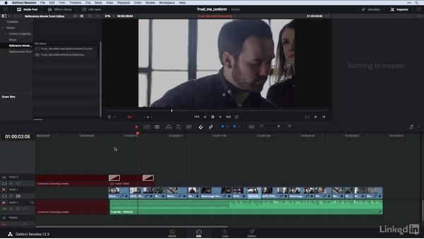 Using the 'Offline Reference Movie': DaVinci Resolve Guru: Moving Timelines Between Editing Apps
