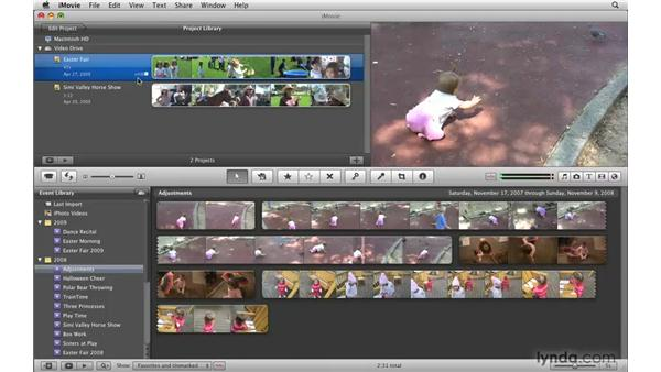 Exporting to the Finder: iMovie '09 Essential Training