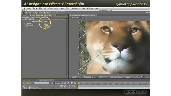 Bilateral Blur: After Effects: Insight into Effects