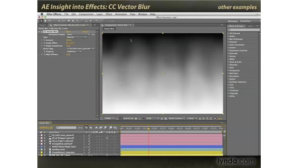 CC Vector Blur: After Effects: Insight into Effects