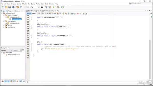 NetBeans IDE: Using JUnit for Testing in Java