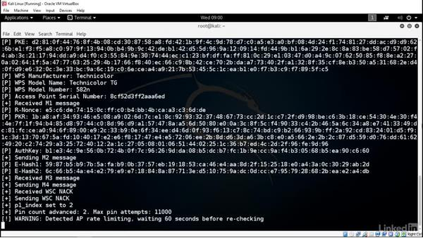 Extracting network passwords through WPS: Ethical Hacking: Wireless Networks