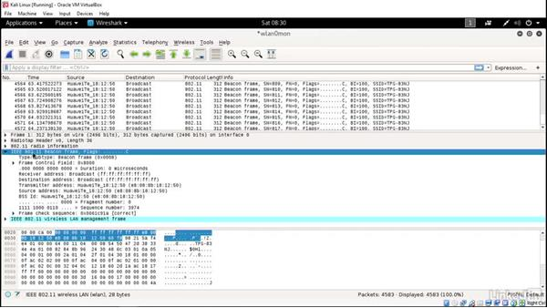 Wi-Fi sniffing using Wireshark: Ethical Hacking: Wireless Networks