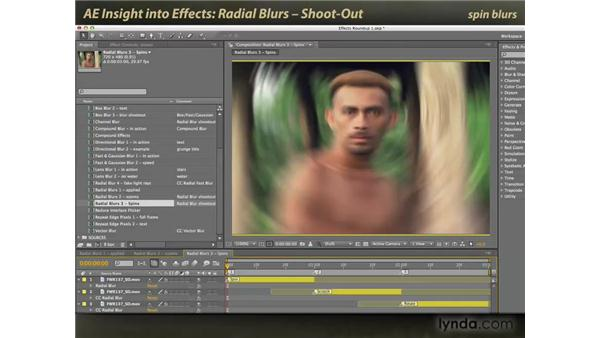 Radial Blurs shootout: After Effects: Insight into Effects