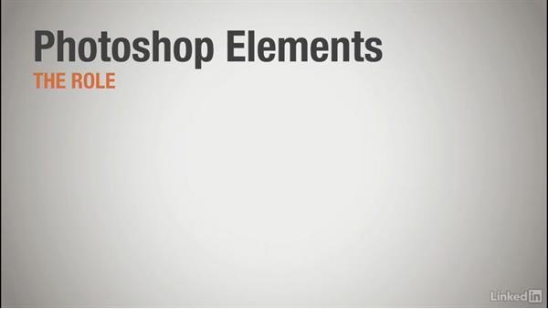 The role of Photoshop Elements: Learning Photoshop Elements 15