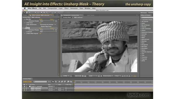 Unsharp Mask power tips: After Effects: Insight into Effects