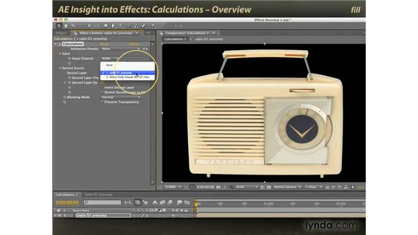 Overview of Calculations: After Effects: Insight into Effects