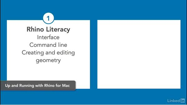 What you should know before watching this course: Rhino for Mac Essential Training