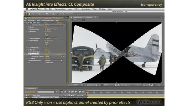 CC Composite: After Effects: Insight into Effects