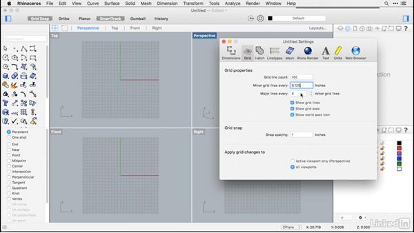 File setup: Rhino for Mac Essential Training