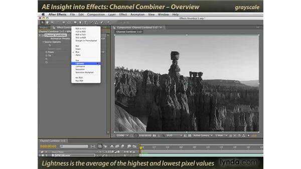Overview of Channel Combiner: After Effects: Insight into Effects