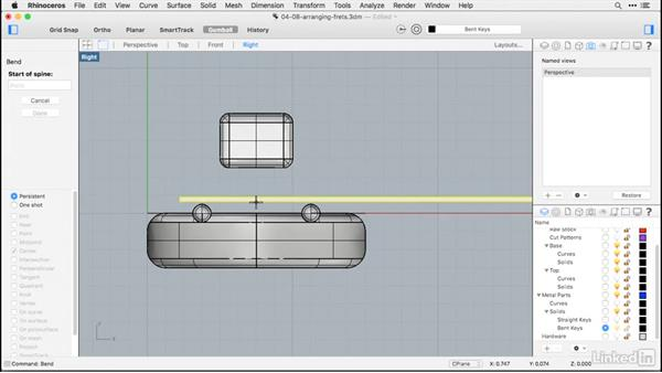 Assembling the keys: Rhino for Mac Essential Training