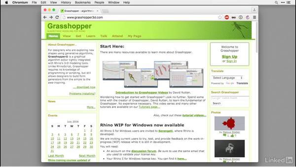 What is Grasshopper?: Rhino for Mac Essential Training