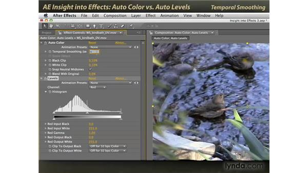 Auto Color vs. Auto Levels: After Effects: Insight into Effects