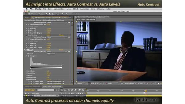 Auto Contrast vs. Auto Levels: After Effects: Insight into Effects