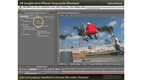 Grayscale shootout: After Effects: Insight into Effects