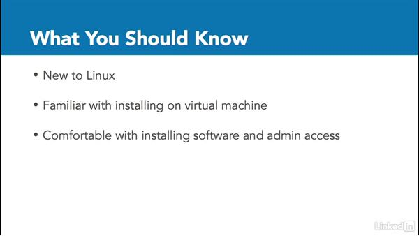 What you should know: Linux: Overview and Installation