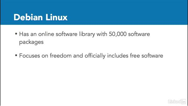 Choosing a Linux distribution: Linux: Overview and Installation