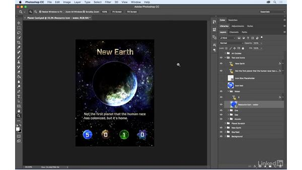 Understand linked and embedded assets: Photoshop: Best Practices for Collaboration