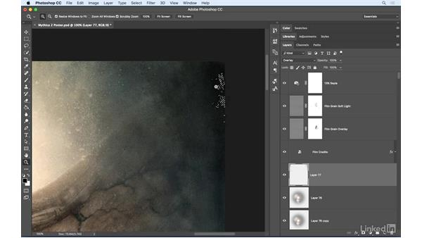 Identify unlabeled layers: Photoshop: Best Practices for Collaboration