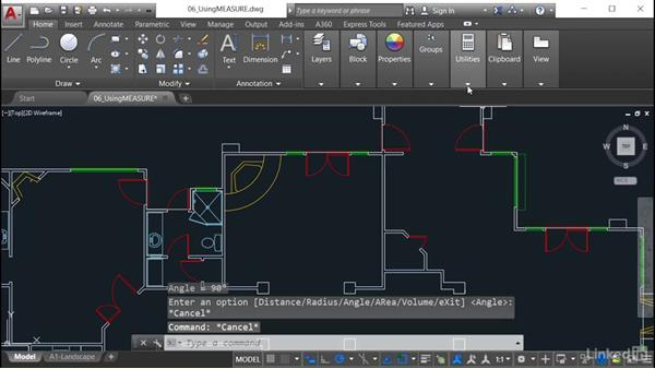 Using measure to obtain accurate drawing information: AutoCAD Tips & Tricks